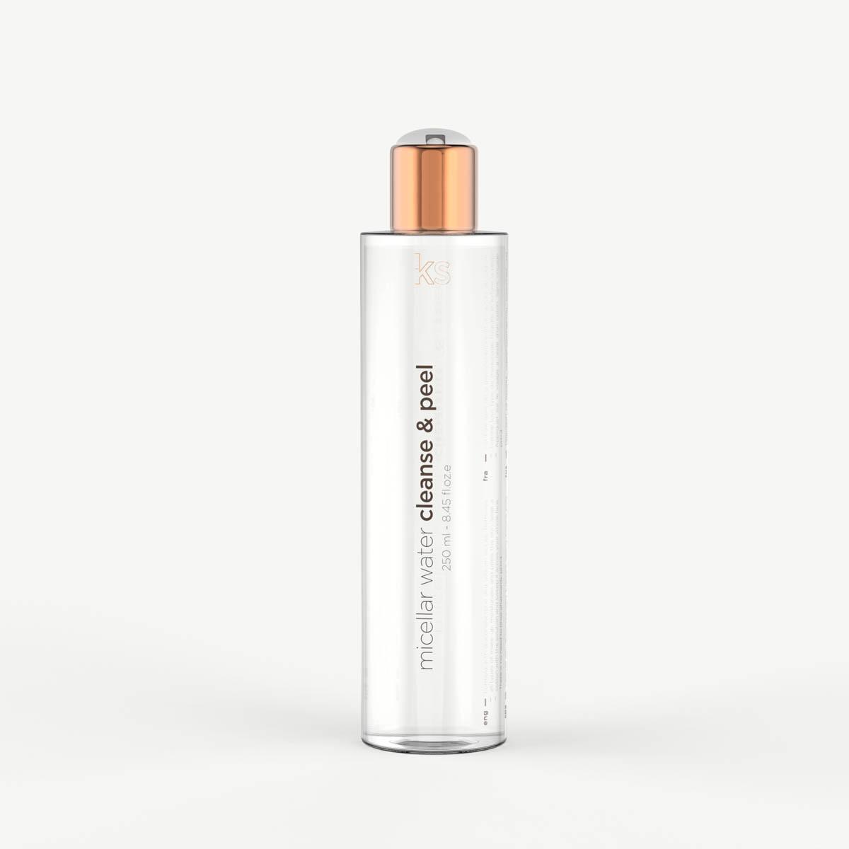 eKSeption micellair water cleanse & peel
